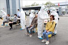 Hải Dương: Lấy mẫu xét nghiệm 1.500 công nhân ngay sau Tết