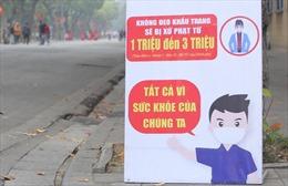 TP Hồ Chí Minh phạt nghiêm trường hợp không đeo khẩu trang nơi công cộng