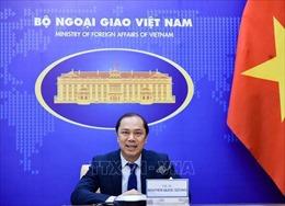Thứ trưởng Ngoại giao Nguyễn Quốc Dũng hội đàm với Quốc vụ khanh Bộ Ngoại giao Đức