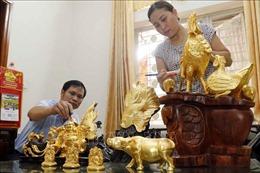 Nghề quỳ vàng bạc Kiêu Kỵ được vinh danh là Di sản văn hóa phi vật thể quốc gia