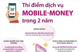 Thí điểm dịch vụ Mobile-Money trong 2 năm
