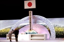 Nhật Bản tưởng niệm các nạn nhân của thảm họa động đất và sóng thần năm 2011