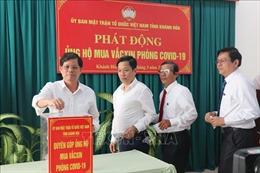 Khánh Hòa sẽ tiêm miễn phí vaccine phòng COVID-19 cho tất cả người dân