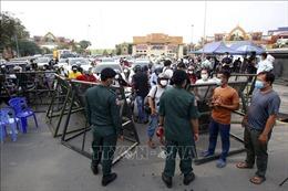 Số ca mắc mới COVID-19 ở Campuchia tăng báo động