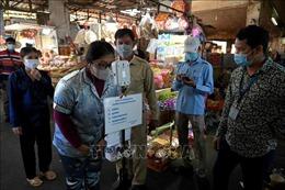 Thủ đô Campuchia đóng cửa chợ đầu mối