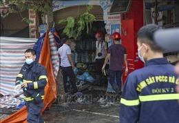 Thăm hỏi, hỗ trợ gia đình các nạn nhân vụ cháy ở phố Tôn Đức Thắng