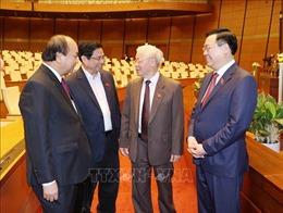 Ngày 5/4, Quốc hội bầu Chủ tịch nước và Thủ tướng Chính phủ