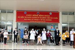 Hải Dương chỉ còn 9 bệnh nhân COVID-19 đang được điều trị