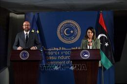Chủ tịch Hội đồng châu Âu công du Libya
