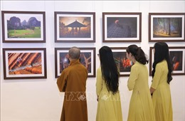 Lễ trao giải và khai mạc triển lãm cuộc thi ảnh 'Phật giáo trong đời sống'