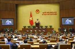 Trình Quốc hội phê chuẩn việc bổ nhiệm 2 Phó Thủ tướng và 12 bộ trưởng, trưởng ngành