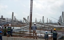 Khẩn trương khắc phục sự cố sập nhà xưởng ở Quảng Ninh