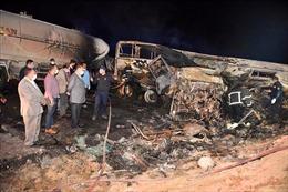 Tai nạn giao thông đường bộ ở Ai Cập khiến 20 người thiệt mạng
