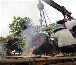 Lễ chập lửa đúc trống đồng 'Hào khí non sông'