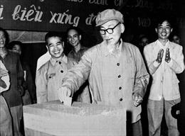Bác Hồ với công tác bầu cử Quốc hội