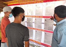 Chia khu vực bỏ phiếu để tạo thuận lợi cho cử tri thực hiện quyền bầu cử