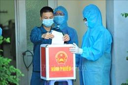 Bắc Ninh tổ chức bầu cử sớm tại các khu cách ly tập trung