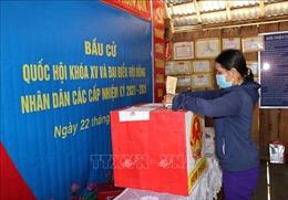 Bầu cử sớm tại Kon Tum diễn ra thuận lợi
