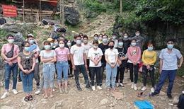 Cao Bằng phát hiện, ngăn chặn 54 công dân nhập cảnh trái phép