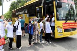 Trường Đại học Kỹ thuật Y tế Hải Dương chi viện Bắc Ninh và Bắc Giang chống dịch