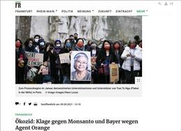 Truyền thông Đức: Ảnh hưởng của chất độc da cam/dioxin ở Việt Nam vẫn còn đến nay