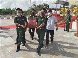 Tổ chức lễ truy điệu và an táng 16 hài cốt liệt sỹ hy sinh tại Lào