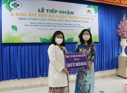 Trao tặng 2.500 bộ kit test trị giá 1,5 tỷ đồng cho tỉnh An Giang
