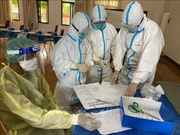 Lào ghi nhận số ca nhiễm cộng đồng thấp nhất trong gần 1 tháng