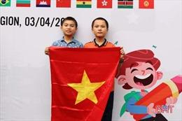 Hai cậu bé lớp 6 ở Hà Tĩnh đạt giải Olympic Toán quốc tế TIMO