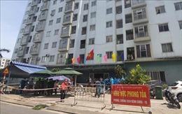 Phong tỏa một chung cư ở Đà Nẵng do phát hiện một F1 nghi mắc COVID-19
