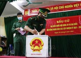 Quân khu 2 hoàn thành bầu cử sớm trong toàn quân