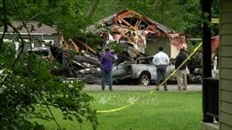 Máy bay rơi xuống nhà dân ở Mỹ làm 4 người thiệt mạng