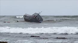 Lật tàu ở San Diego gây nhiều thương vong