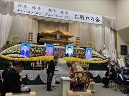 Tang lễ trang trọng cho hai lao động Việt Nam thiệt mạng trong vụ sạt lở đất ở Nhật Bản