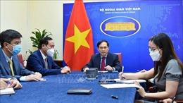 Việt Nam đề nghị Anh xem xét việc chuyển giao công nghệ sản xuất vaccine ngừa COVID-19