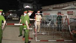 Cách ly y tế thôn Tiền Phong ở Vĩnh Phúc do ca bệnh liên quan đến quán bar Sunny