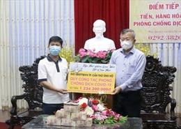 Nhiều doanh nghiệp, tổ chức tại Cần Thơ đóng góp ủng hộ hoạt động phòng, chống dịch