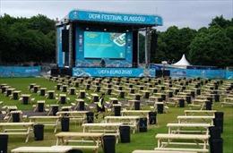 Scotland mở cửa khu Glasgow Green Fan Zone phục vụ 'tín đồ' Euro 2020