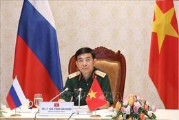 Bộ trưởng Phan Văn Giang điện đàm với Bộ trưởng Bộ Quốc phòng Liên bang Nga