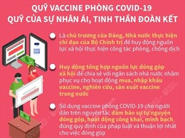 Quỹ vaccine phòng COVID-19 - quỹ của sự nhân ái, tinh thần đoàn kết
