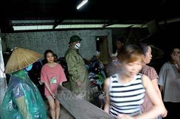 Sơ tán 41 hộ dân vùng nguy cơ sạt lở cao ở Hòa Bình đến nơi an toàn