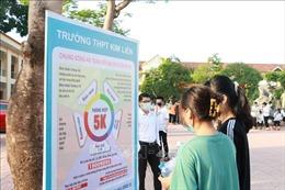 Năm địa phương của tỉnh Nghệ An hoãn thi thử tốt nghiệp THPT