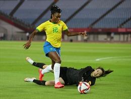 Olympic Tokyo 2020: Đội tuyển bóng đá nữ Trung Quốc 'thảm bại' trước Brazil