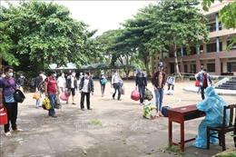 Bến Tre tiếp tục hỗ trợ công dân từ TP Hồ Chí Minh về quê