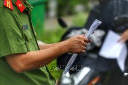 Xuất hiện tình trạng mua bán giấy đi đường để 'qua mặt' chốt kiểm soát dịch