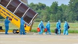 Thanh Hóa đón 189 người dân có hoàn cảnh đặc biệt khó khăn trở về từ TP Hồ Chí Minh