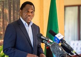 Điện mừng Tổng thống nước Cộng hòa Zambia