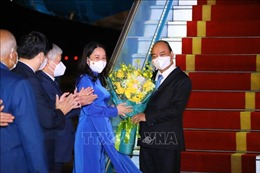 Chủ tịch nước kết thúc tốt đẹp chuyến tham dự Phiên thảo luận chung cấp cao ĐHĐ LHQ Khóa 76