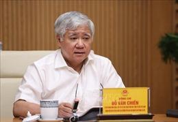 Đoàn kiểm tra của Ban Bí thư Trung ương Đảng làm việc với Bộ Tài nguyên và Môi trường