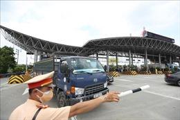 Tăng cường kiểm soát trật tự an toàn giao thông gắn với phòng, chống dịch